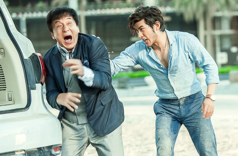 1. Jackie Chan and Aarif Rahman